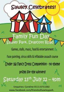 Sawley Park Fun Day Poster