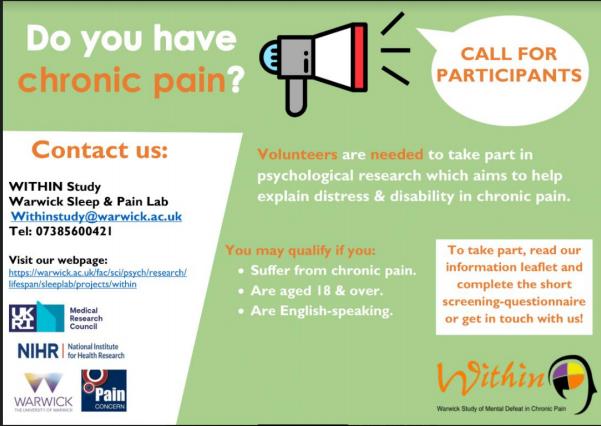Chronic Pain Study